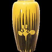 REDUCED Awaji Japan Pottery Cabinet Vase