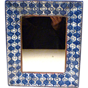 REDUCED MCM Michael Andersen Denmark Pottery Framed Mirror / Tray