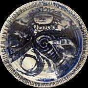 REDUCED Jan Jones Mid-Century Studio Pottery Bowl