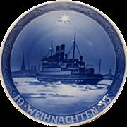 REDUCED 1933 Royal Copenhagen Christmas Plate