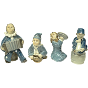 REDUCED Royal Copenhagen 4 Piece Children's Band Figures