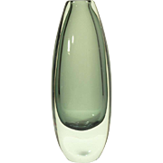1950s Strombershyttan Droplet Vase Designed by Gunnar Nylund