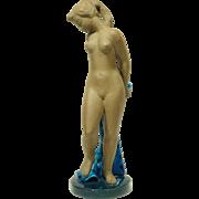 "Huge Royal Copenhagen Ltd/Ed Nude Figure ""PANDORA"" by Johannes Hedegaard circa 1958"
