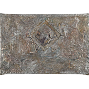 SALE Gladys Goldstein Abstract Modernism Painting H2O