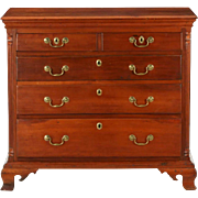 SALE American Chippendale Pennsylvania Chest of Drawers, Cherry c. 1770-80