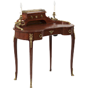 SALE French Louis XV Antique Writing Desk, 19th Century