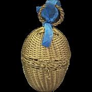 Lovely Antique Metal Egg