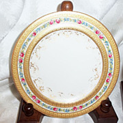 SALE Five Tiffany & Company New York Decorated Dessert Plates Doulton & Co.