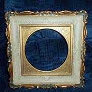 SALE Vintage Matching Pair of Vancor Vanelli Ornate  Italian Plate Frames