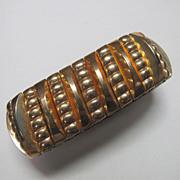 Vintage Gold Filled Retro Leading Lady Harwood Expanding Bracelet