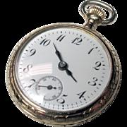 Art Nouveau 14K Ladies Pocket Watch