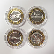 Collectible $10 Silver Strike Gaming Tokens
