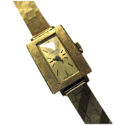 18K Longines Ladies Manual Watch
