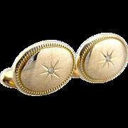 Victorian Diamond Starburst Cufflinks