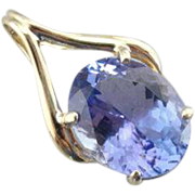 Our Finest Tanzanite Pendant, A Luxurious Pendant with Clean Lines