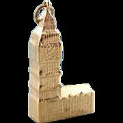 Big Ben, Tourist Keepsake Pendant or Charm