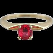 Living Stone: Rare, Vibrant Red Spinel Gemstone, Engagement Ring