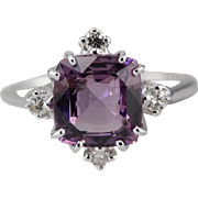 The Catherine Ring with Spinel Gemstone From The Elizabeth Henry Collection