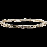Diamond Anniversary, Classic Diamond Tennis Bracelet