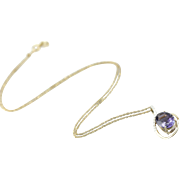 Her Compass Stone: Iolite and Diamond Necklace for the Lady Viking
