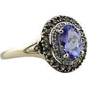 Fancy Cut Amethyst Statement Ring