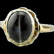 Retro Era Cat's Eye Cocktail Ring