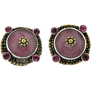 ECHO OF THE DREAMER/MARS AND VALENTINE BEAUTIFUL  EARRINGS