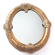 SALE Victorian Mirror with Gilt Frame, c. 1875