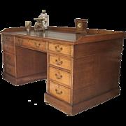 Oak English Desk C1875