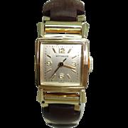 Vintage Ladies Wittnauer Nurses Watch 10 Kt Gold Filled