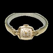 Vintage Bulova Ladies 14Kt Yellow Gold  23 Jewel Wristwatch