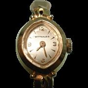 14 Kt Yellow Gold Ladies Wittnauer Vintage  Wristwatch