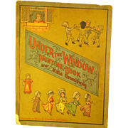 Antique *Under the Window* Painting Book