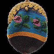 Pretty Little Bead Work Purse c1880