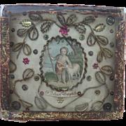 John The Baptist Reliquary c1820