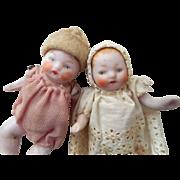 SOLD Two Sweet Bisque German Babies