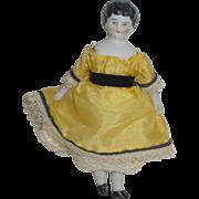 Tiny German Dolls House Doll c1900