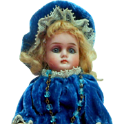 SOLD Sweet 192 Bisque Head Doll c1910