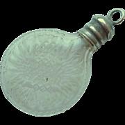 Tiny Chatelaine Perfume Bottle c1880