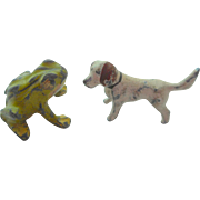 Teeny Tiny Old Dog & Frog
