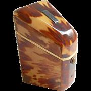 SOLD Miniature Knife Box Shaped Needle Case c1840