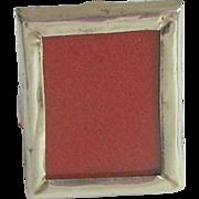 SOLD Tiniest Antique Silver Frame Hallmarked 1900