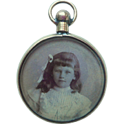 Small Antique Double Sided Locket c1900