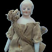 German Bisque Gentleman For Dolls House c1910