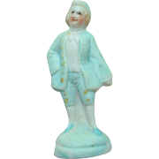 Tiny Parian Figurine For Dolls House c1890
