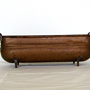 SOLD Ca. 1940's Pretty Copper Dutch Planter