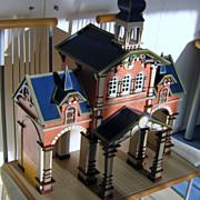 SOLD Stunning Dutch Folk Art Doll House