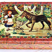 1920's Beautiful German Complete Block Puzzle