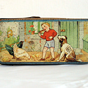 1930's French FerEmbal Biscuit Tin