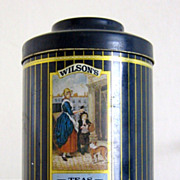 "English Vintage Tin ""Cries of London"" Series"